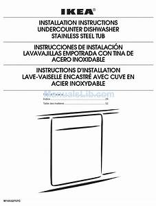 Ikea Iud8500bx1 Installation Instructions Manual Pdf