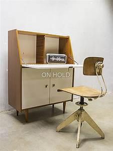 Bureau Secretaire Vintage : vintage secretaire bureau wandmeubel bestwelhip ~ Teatrodelosmanantiales.com Idées de Décoration