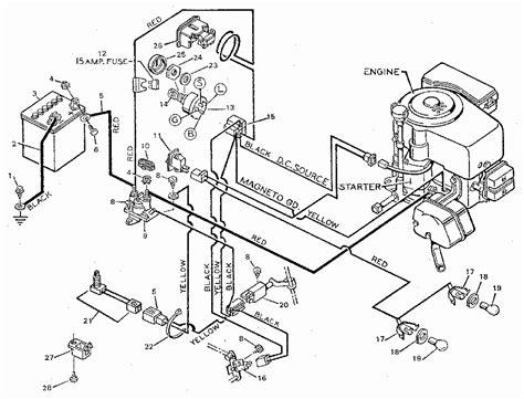 Craftsman Riding Lawn Mower Wiring Diagram Free