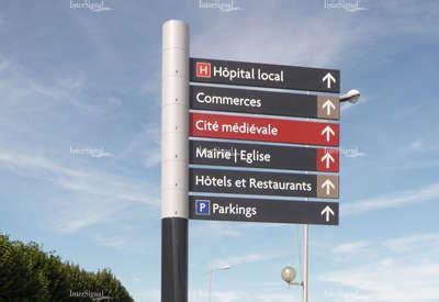 mat駻iel de bureau intersignal savoir faire signalétique touristique