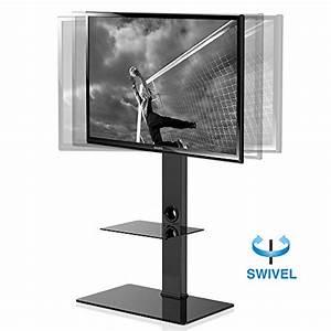 Meuble Avec Support Tv : fitueyes meuble tv avec support suspendu pivotant pour ~ Dailycaller-alerts.com Idées de Décoration