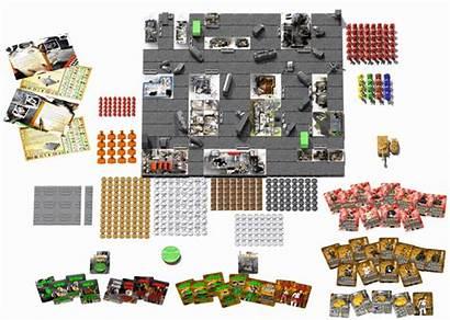 3d Board Printed Zombie Gaming Games Tabletop