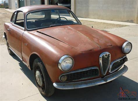 Alfa Romeo Giulia (giulietta) 1600  1963  Needs Full