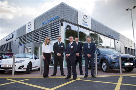 dealer mazda new look for showrooms is going down well with mazda