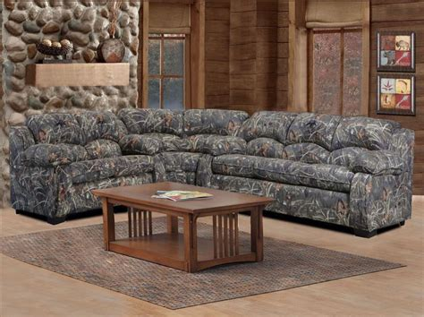duck commander sectional  piece sofa loveseat  wedge duck dynasty camouflage furniture