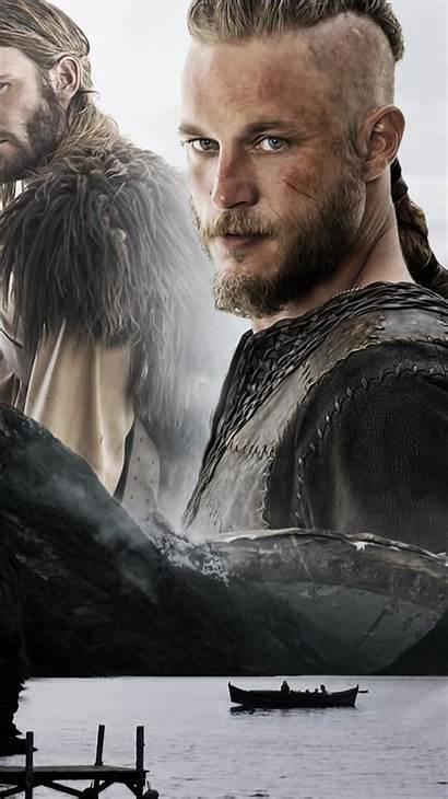 Ragnar Vikings Wallpapers Tv Lodbrok Wall Iphone