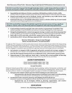 digital marketing executive resume sample With best marketing resumes