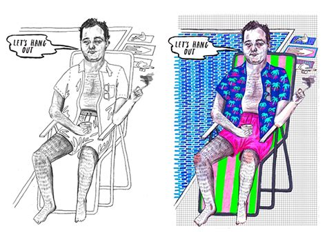 bill murray coloring book bill murray coloring book the awesomer