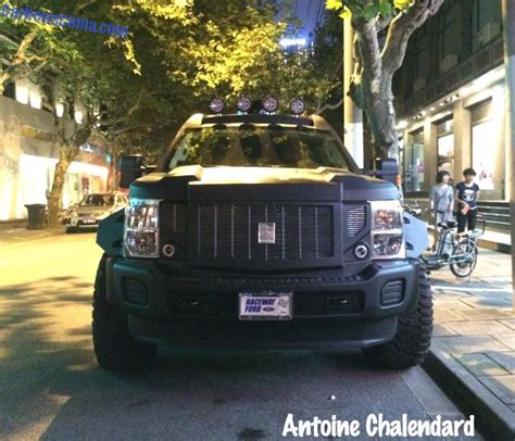 spotted  china   specialty vehicles gpatton suv