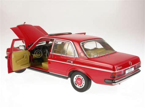mercedes w123 230 e signalred diecast car revell 1 18 ebay