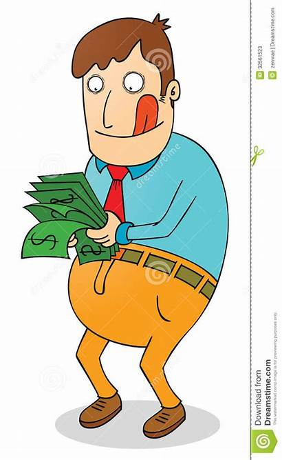 Salary Clipart Counting Pay Illustration Satisfying Money
