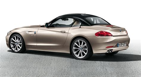 2013 Bmw Z4 With Black And Silver Top