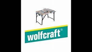 Wolfcraft Master Cut : st roboczy wolfcraft master cut 2000 6900000 youtube ~ A.2002-acura-tl-radio.info Haus und Dekorationen
