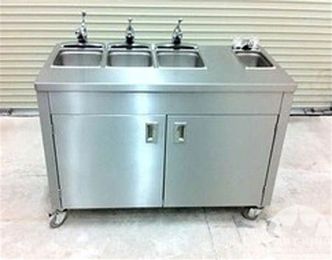 Self Contained Portable Sink by Self Contained Portable Sinks Mobile Washing Stations