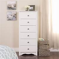 white lingerie chest Prepac Monterey 6 Drawer Lingerie White Finish Chest | eBay