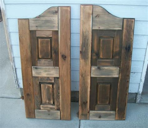 western saloon doors    home projects