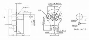 10k Potentiometer Pinout  Working  U0026 Datasheet Explained