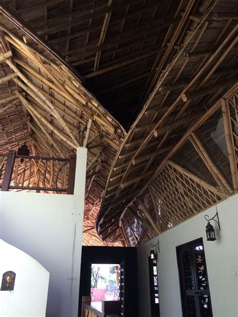 bamboo roof residence in lang chiangmai