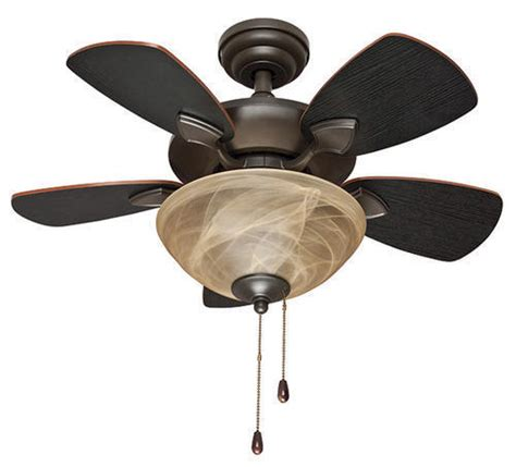 32 ceiling fan with light 32 quot oil rubbed bronze 2 light indoor ceiling fan with