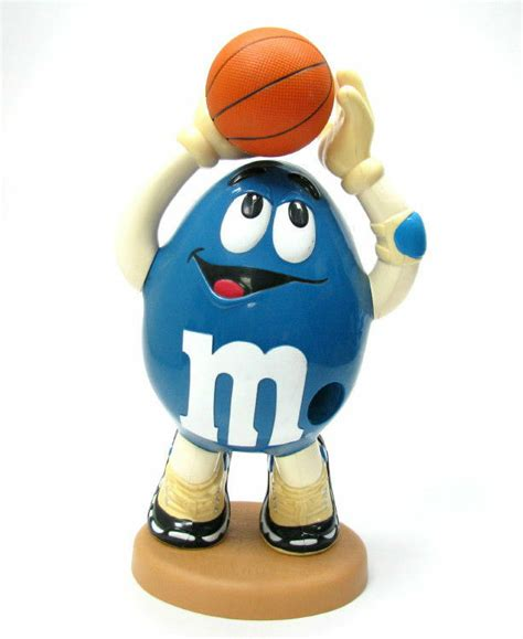 mms basketball player candy dispenser container ebay