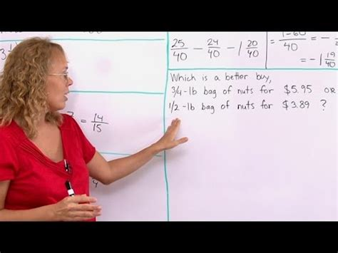Unit Rate Word Problem Which Is A Better Buy? Youtube