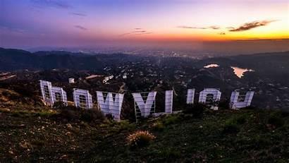 Hollywood Sign Angeles Los Usa