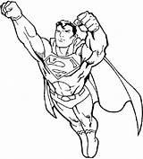 Superman Coloring Pages Fotolip Children sketch template