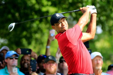 Tiger Woods displays new TaylorMade woods, irons for 2019 ...