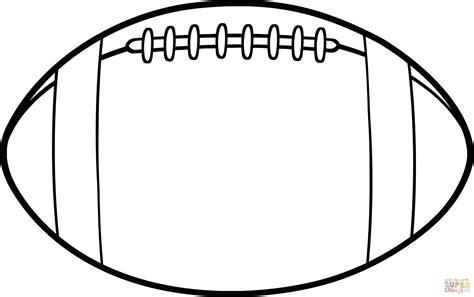 football template template printable football template