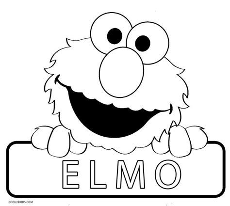 printable elmo coloring pages  kids coolbkids