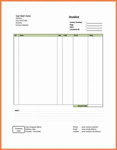 Download example simple invoice rabitahnet for Easy invoice template