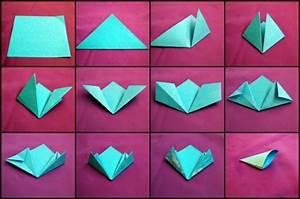 Bricolage Facile En Papier : origami facile a faire fleur ~ Mglfilm.com Idées de Décoration