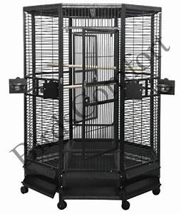 AE Large Octagon Bird Cages 32x32 - by BirdsComfort.com