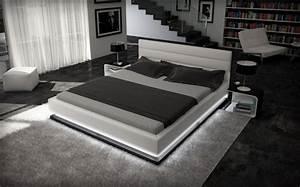 Bett 200x220 Weiß : polsterbett ripani 200x220 weiss 200 x 220 cm wasserbetten rahmen offizielle hersteller ~ Indierocktalk.com Haus und Dekorationen