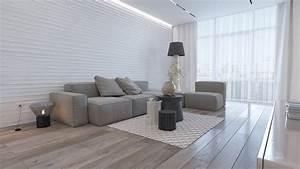 Minimalist, Apartment, With, Ethno, Vibes, And, A, Unique, Array, Of, Textures