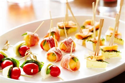 canape food ideas canape trio recipe taste com au