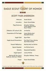 reids eagle scout ceremony on pinterest eagle scout With eagle scout court of honor program template