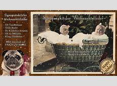 Babys singen 5 Weihnachtslieder schön + schief lustig