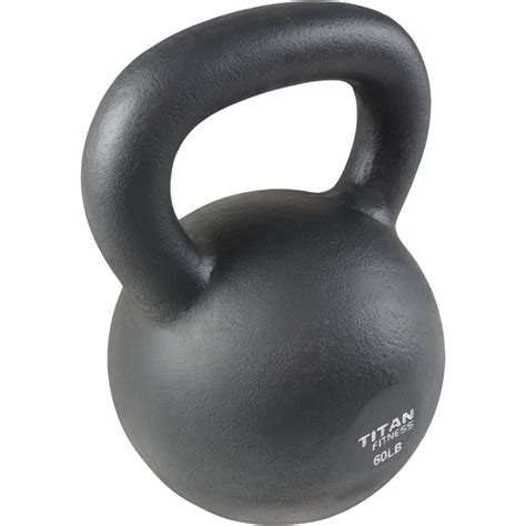 kettlebell iron cast weight swing lb workout fitness titan 5lb 100lb solid natural boxing