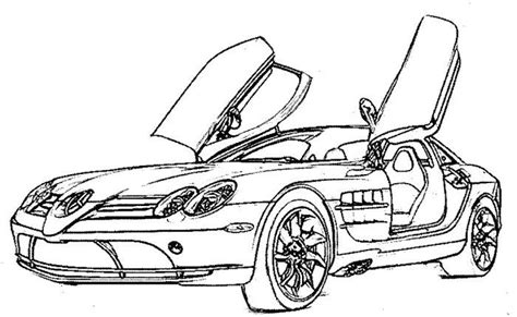 Mercedes-benz Coloring Pages