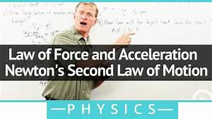Law of Force and Acceleration - Newton's Second Law of ...