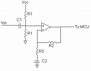 digital guitar tuner ece 476 spring 2004 With dc bias circuit