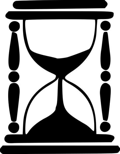 onlinelabels clip art hourglass silhouette