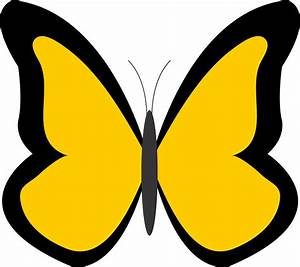 Yellow Butterfly Clipart | Clipart Panda - Free Clipart Images