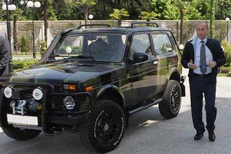 Vladimir Putin's Lada Niva Is Totally Bad-ass
