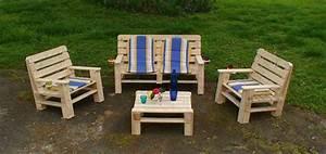 Salon De Jardin En Palette De Bois : meuble palette bois jardin ~ Voncanada.com Idées de Décoration