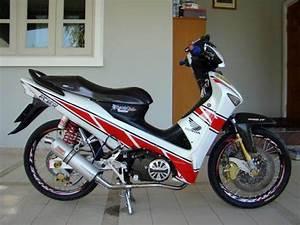 Modifikasi Motor Honda Supra X 125