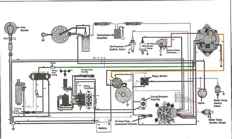 volvo penta outdrive wiring diagram  sx parts