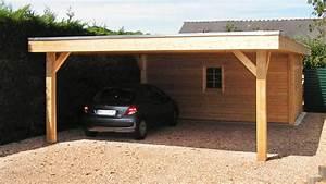 Carport Avec Abri : carport bois neuville moduland ~ Melissatoandfro.com Idées de Décoration