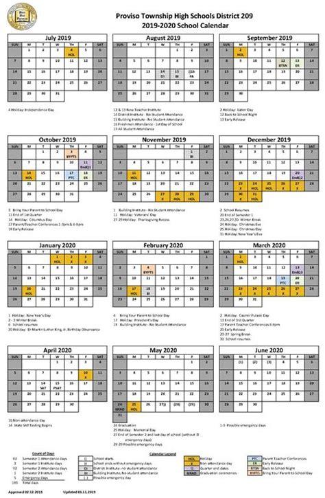 district calendar approved district calendars